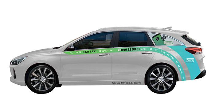 Eko taxi stigao u još jedan hrvatski grad
