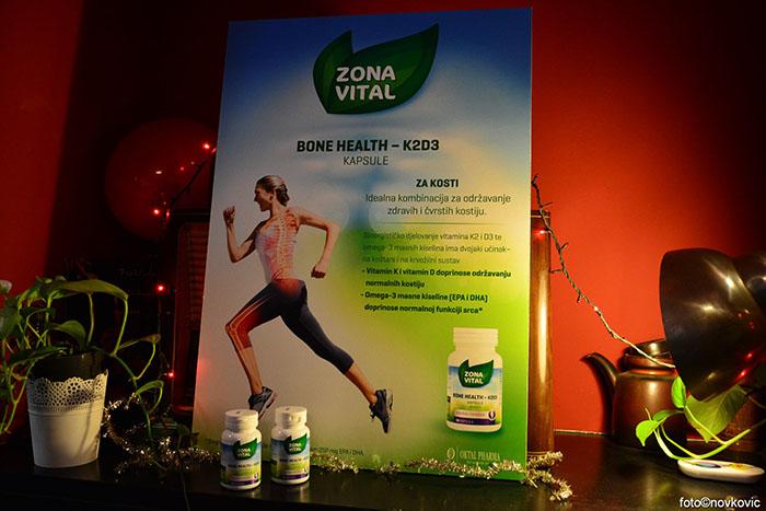 Novi proizvod Zone Vital čuva zdravlje kostiju
