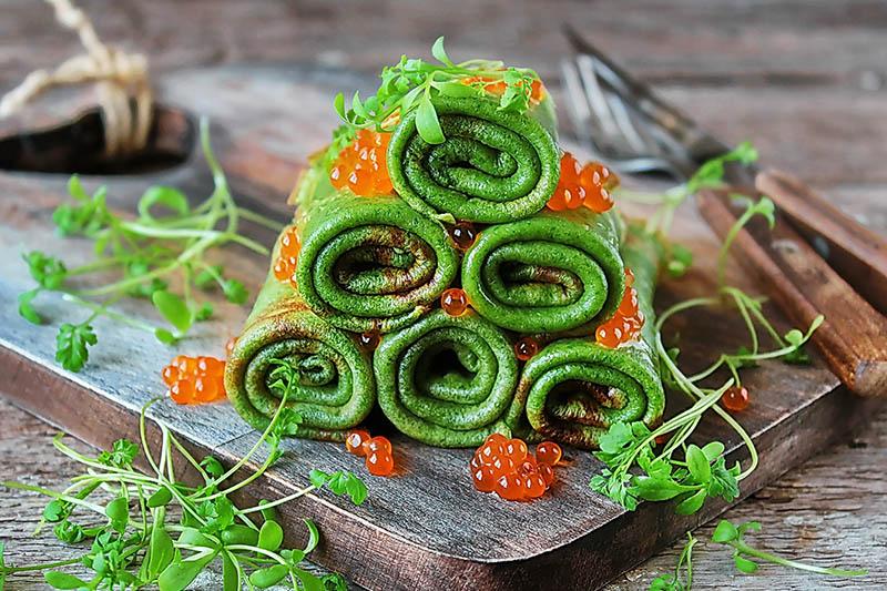 Oboji tanjur uz 50 nijansi zelene