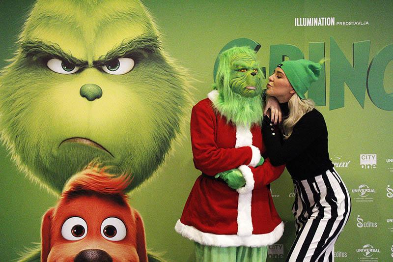 Zeleni mrgud Grinch osvojio je preko 100.000 gledatelja