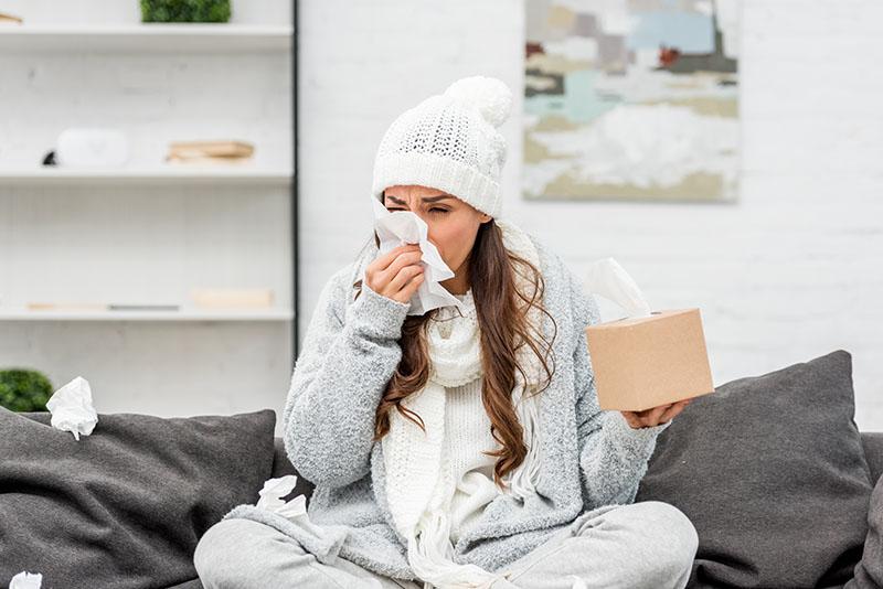 Začepljen nos i otežano disanje - pozdravite se s neželjenim simptomima prehlade