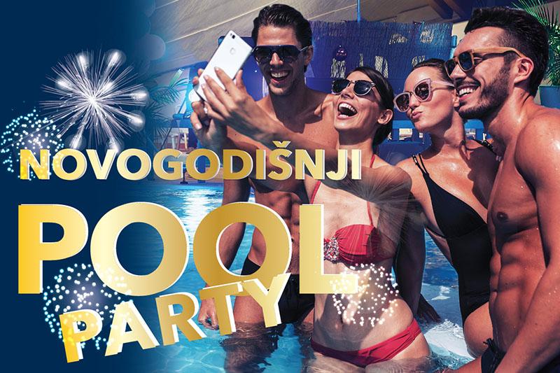 Najluđi pool party za doček najluđe noći u godini