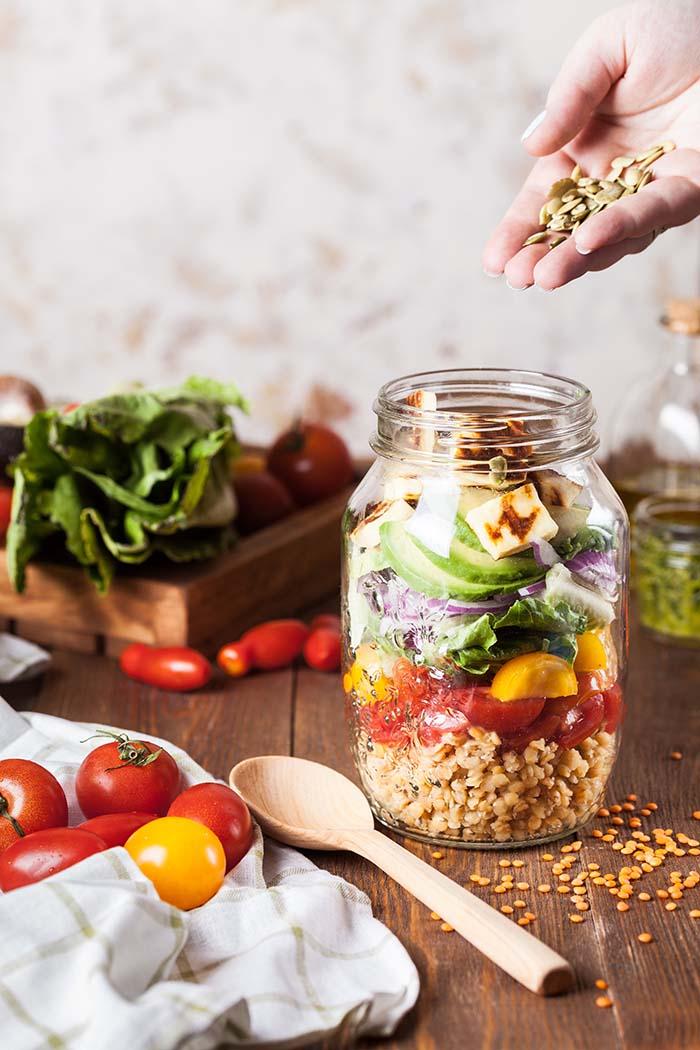 Kako napraviti savršenu salatu u staklenci – svaki put?