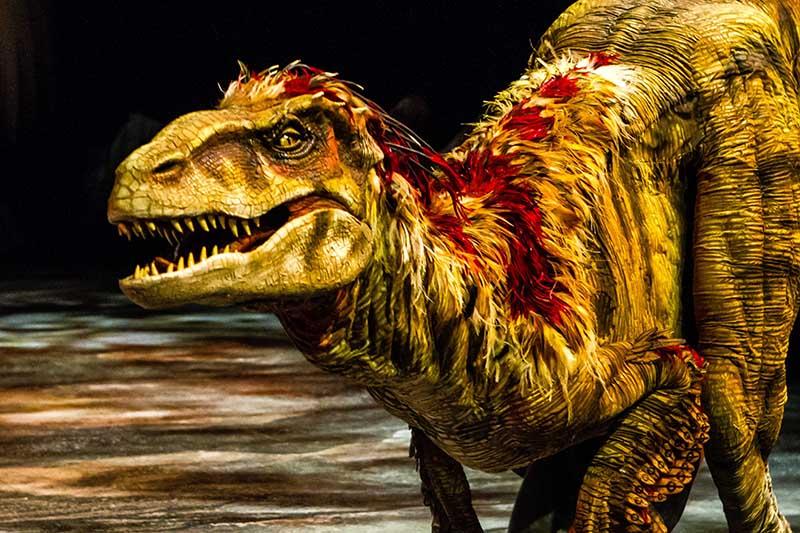 Šetnja s dinosaurima - ne propustite pogledati najbolji show s dinosaurima na svijetu