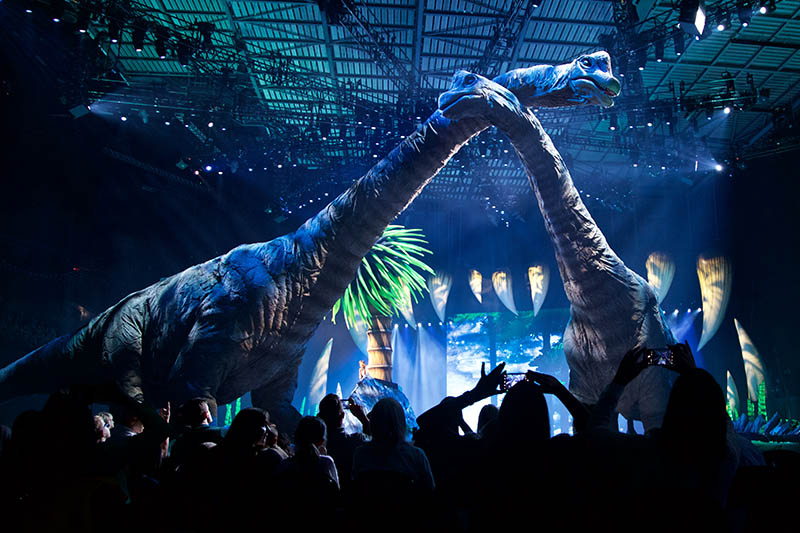 Šetnja s dinosaurima – Spektakl u Areni prava je lekcija iz prapovijesti za sve znatiželjnike