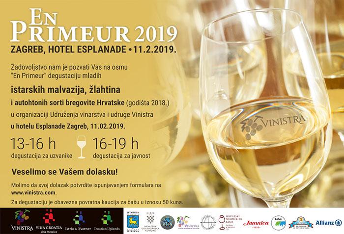 En Primeur 2019: Zagreb očekuje degustacija mladih malvazija