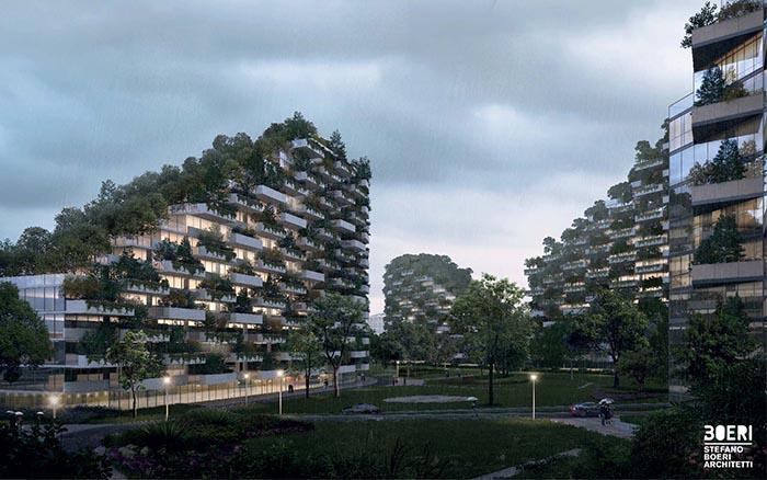 VIDEO: Kineski samoodrživi grad broji više od milijun biljaka