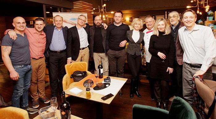 Vino uz žlicu: Zagrebački novinari u Aperitivo baru predstavili jedinstveni gastro projekt