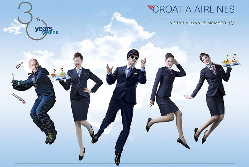 Croatia Airlines obilježava 30. obljetnicu osnutka