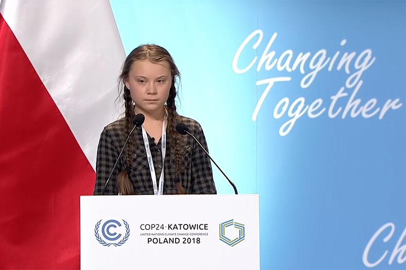 VIDEO: 16-godišnja Greta Thunberg novo je lice borbe protiv klimatskih promjena