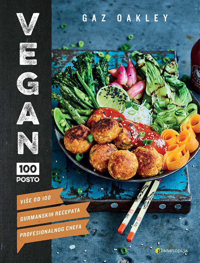 Gaz Oakley dolazi u Zagreb i promovira kuharicu Vegan 100 posto