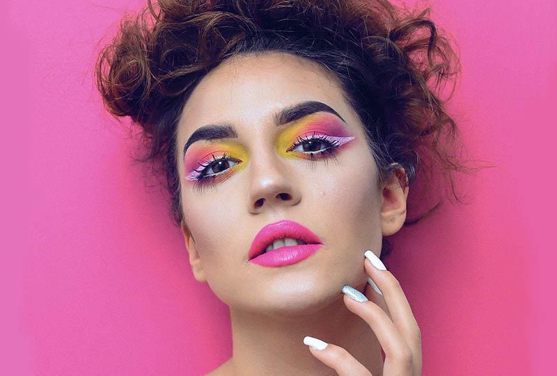 Make up u znaku proljeća