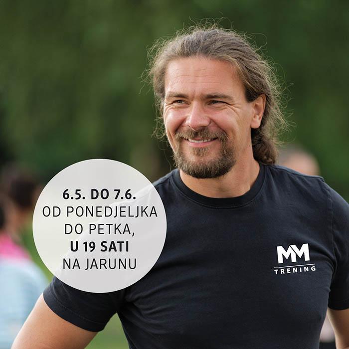 Besplatni treninzi s Mariom Mlinarićem pripremaju te za dm žensku utrku