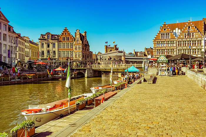 Ghent je zeleni grad koji bi bilo prava šteta zaobići