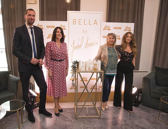 BELLA by Izabel Kovačić nova je linija proizvoda dostupna ekskluzivno u dm-u