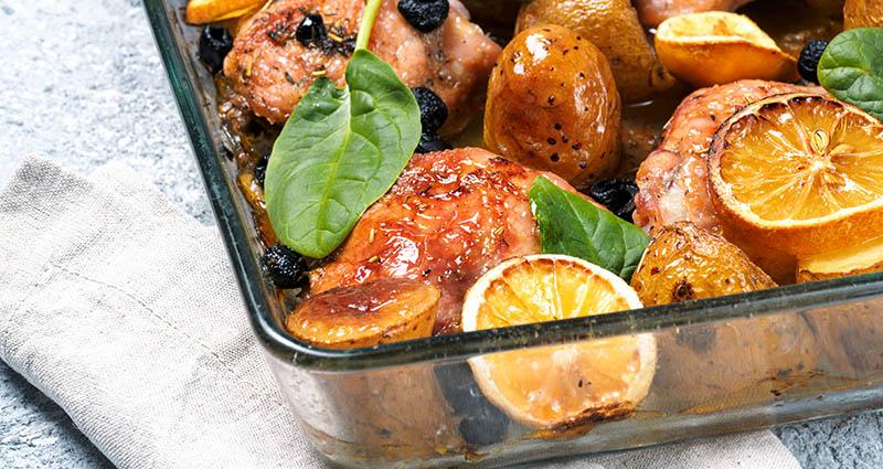 Sve u jednom potezu: Pečena piletina na