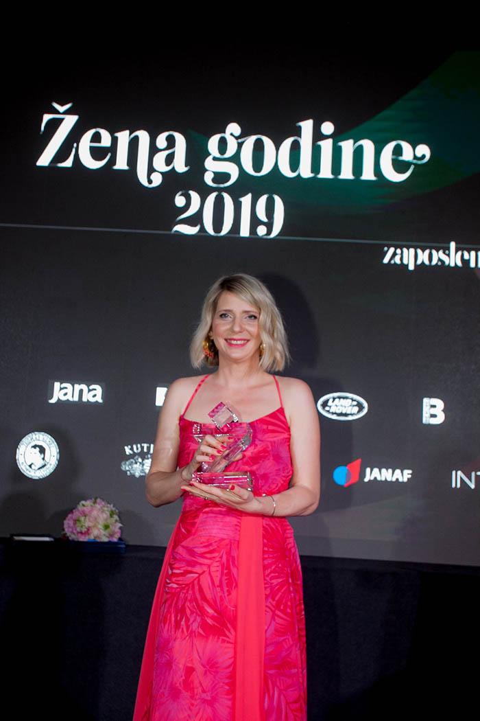 Nina Išek Međugorac je Žena godine 2019.
