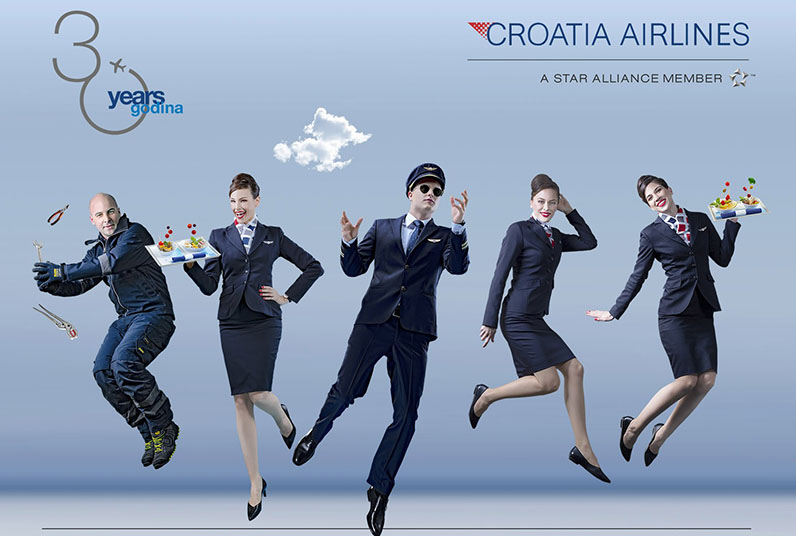 Croatia Airlines danas slavi 30. rođendan