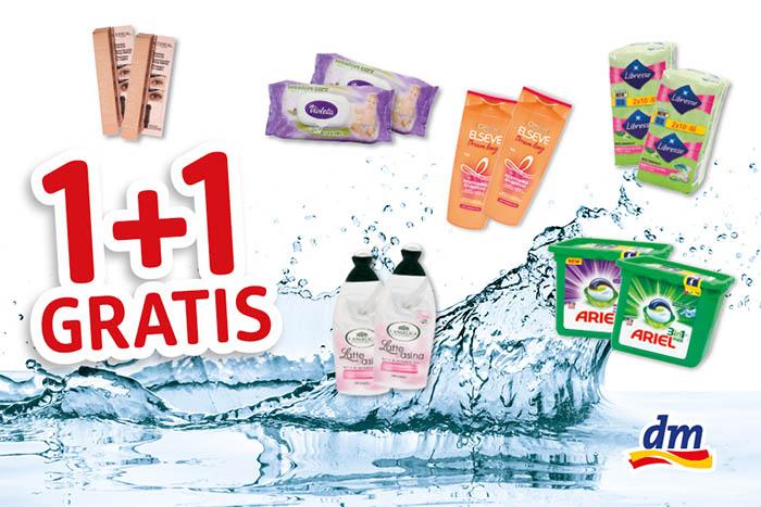 Akcija 1+1 gratis: Kupovina u dm-u donosi vam besplatne proizvode