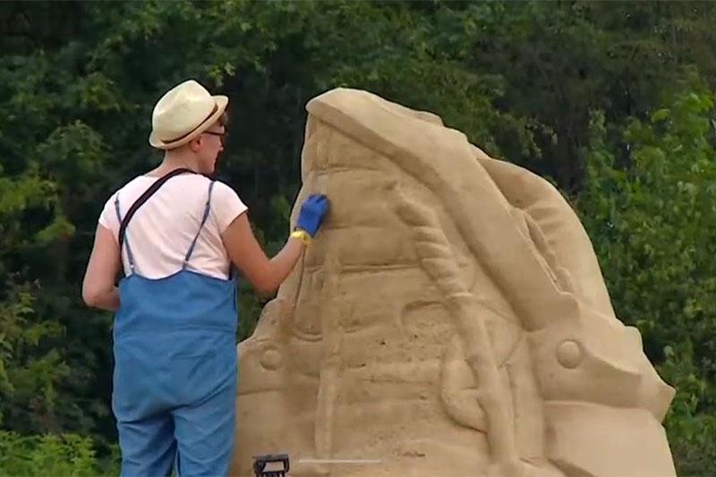 VIDEO: Skulpture od pijeska za spas ugroženih životinjskih vrsta