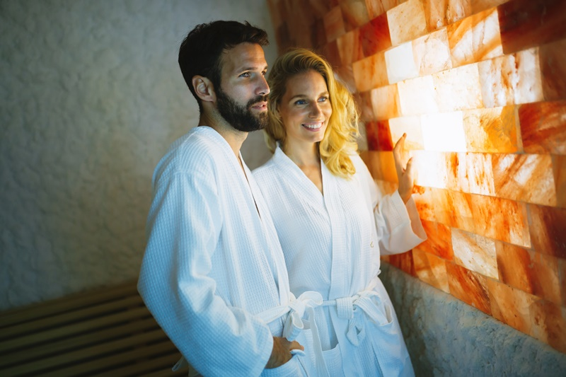 Slana soba protiv dišnih tegoba - iskoristite sve prednosti solne terapije u Termama Laško
