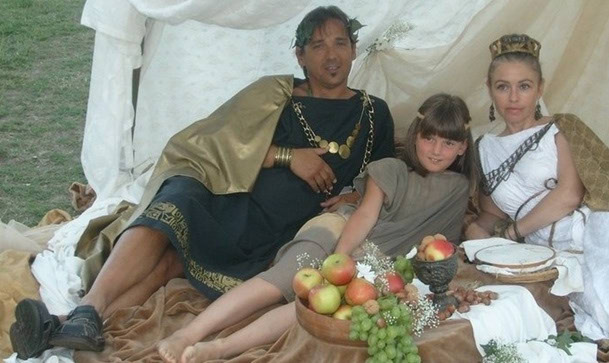 17. 07. 2011. Jela antičkog Rima u Fažani