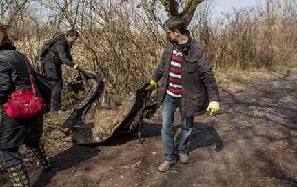 Djelatnici dm-a čistili zagrebačku Savicu
