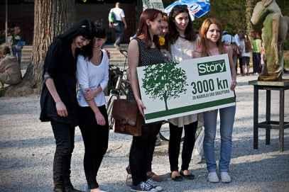 Story Green day u parku Maksimir