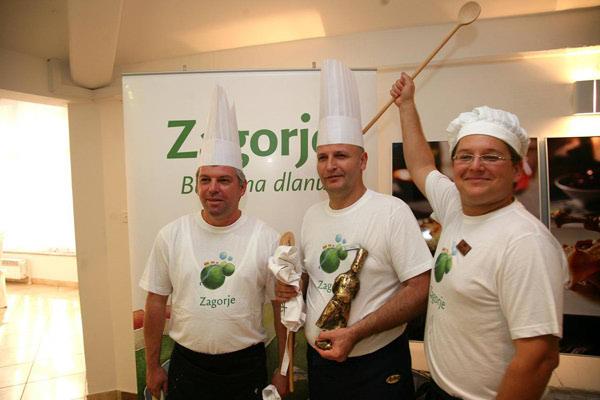 Drugi Zagorski chef je Ivica Žulj iz Termi Jezerčica
