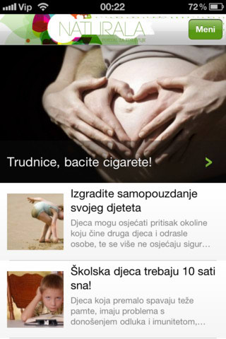 Naturala i preko iPhone aplikacije!